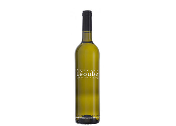 Bottle-white-wine-leoube-côtes-de-provence