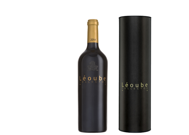 bouteille rouge léoube collector