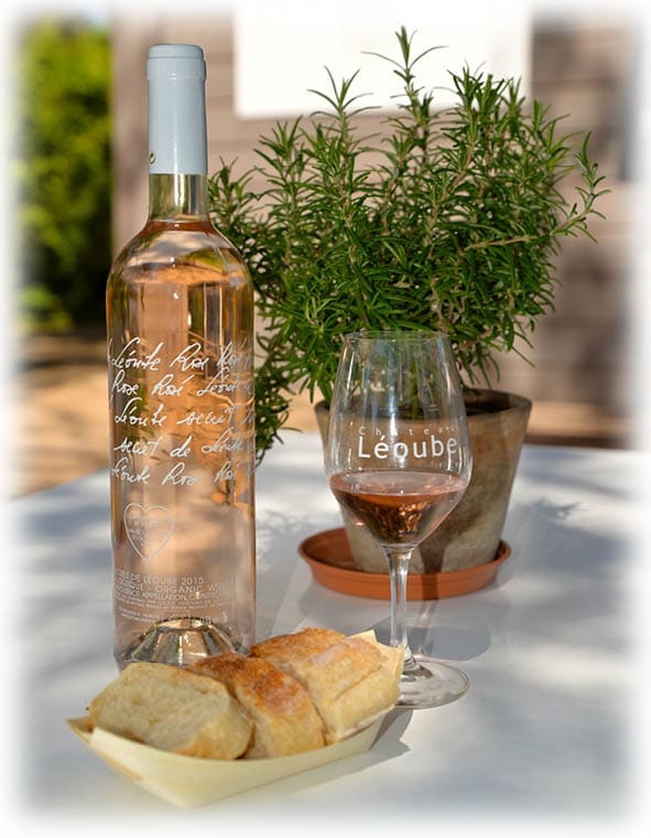 vin rosé secret de léoube