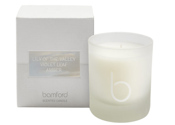 lily of the valley-candle-bamford